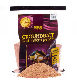 Meus Cheese Micro Pellet Groundbait Meus Groundbait & Partikelfutter