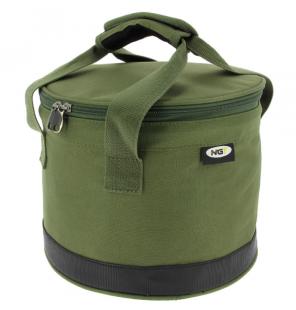 NGT Bait Bin With Handles & Zip Cover Futtertasche NGT Angeltaschen