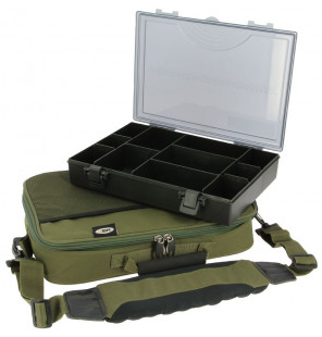 NGT Box Case Tackle Bag with Tackle box Large NGT Taschen