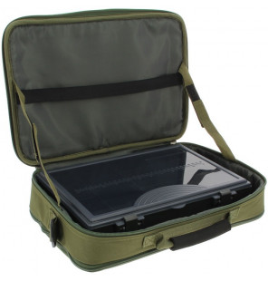 NGT Box Case Tackle Bag with Tackle box Large NGT Systemtaschen