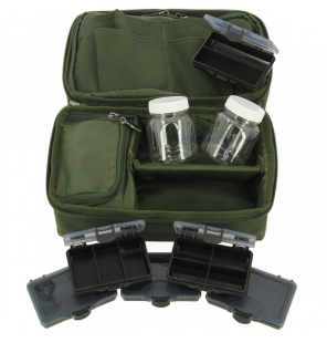 NGT Complete Rigid Carp Rig Pouch System NGT Systemtaschen