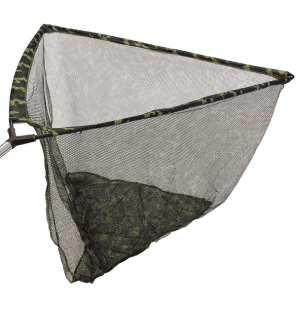 "NGT 42"" Camo Specimen Net with Metal 'V' Block and Stink Bag"