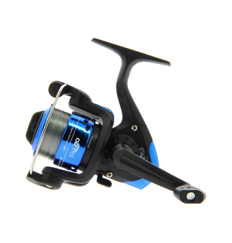 Angling Pursuits Star 20 - 1BB Reel with 8lb line NGT Frontbrems-Rollen