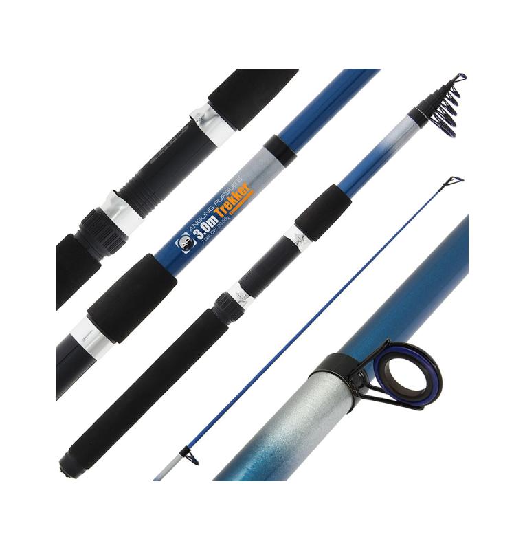 NGT AP Trekker Telescopic - 10ft (3.0m) Telescopic Fishing Rod (Glass) Angling Persuits Teleskopruten