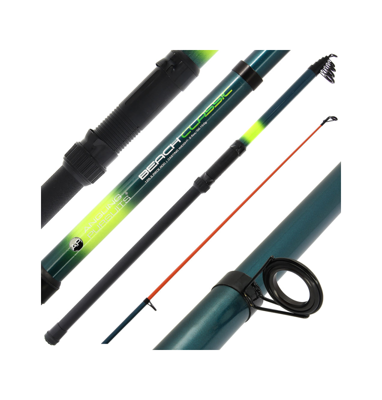 Angling Pursuits Beachcaster Telescopic - 12ft (3.6m) Telescopic Fishing Rod (Glass) Angling Persuits Teleskopruten