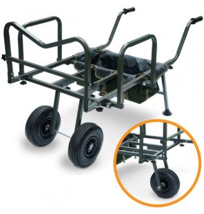 NGT Dynamic Barrow - Adjustable Profile with Twin or Single Wheel Usage NGT Trolley & Barrows