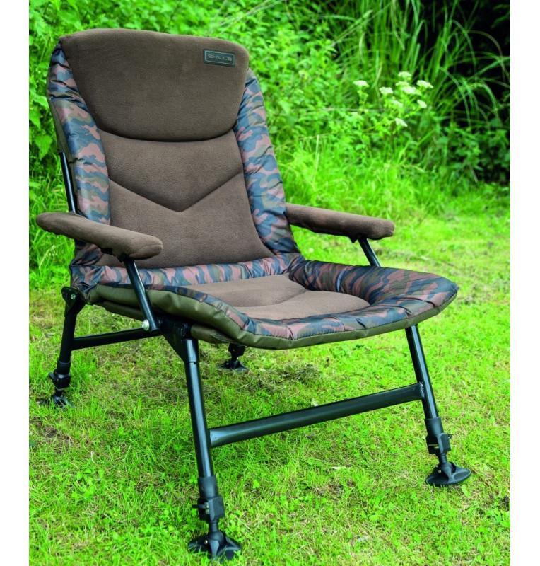 Skills Camo Carp Arm Chair Skills Angelliegen & Angelstühle
