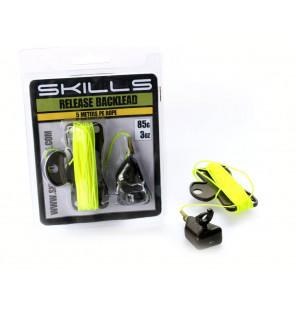 Skills 85g Backlead Release mit 5m Schnur Skills Diverses