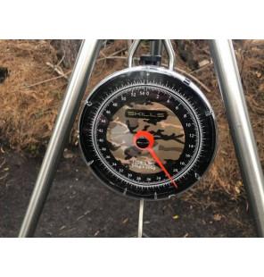 Skills Camo Scale 54Kg/120lb incl. Pouch (200g/4oz) Skills Abhakmatten & Wiegeschlingen