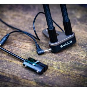 Skills Carbon Red LED Snag Ears Skills Bissanzeiger & Bobbins