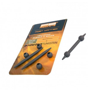 PB DT Heli-Chod Rubber & Beads Silt 3Pcs PB Products Endtackle