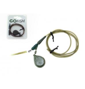 GF Lead Clip Kit incl. 40g Swivel Lead 1pcs Set Gofish Endtackle