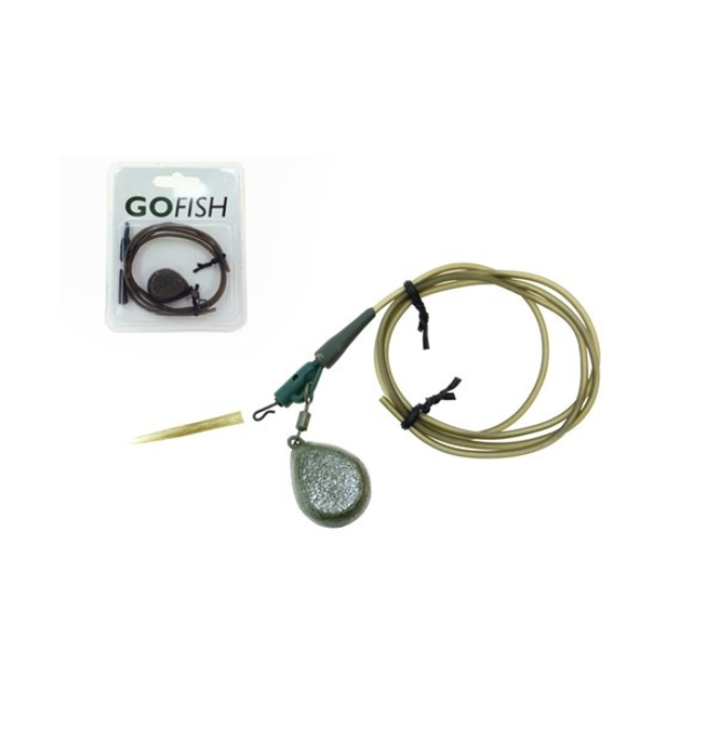 GF Lead Clip Kit incl. 40g Swivel Lead 1pcs Set Gofish Vorfachmaterial & Montage-Zubehör