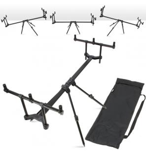 NGT Slider Pod - 3 Rod High/Low Pod with Case NGT Rod Pod´s, Banksticks & Buzzerbars
