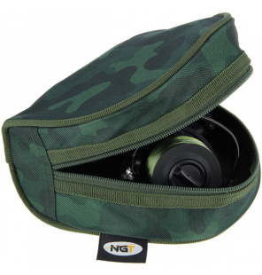 NGT Padded Reel Case in Camo NEW NGT Angeltaschen