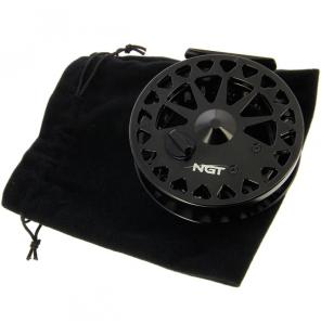 "NGT Dynamic Centrepin - 2BB, 4.25"" CNC Aluminium Reel NGT Rollen"