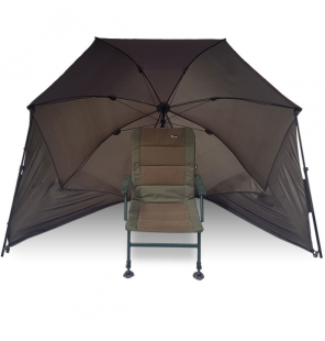 "NGT Shelter - 50"" Day Shelter with Storm Poles Brolly NGT Schirme & Zelte"