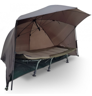 "NGT Shelter - 60"" with Storm Poles and Groundsheet Brolly NGT Schirme & Zelte"