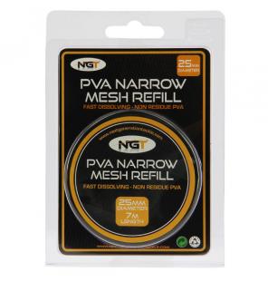 NGT PVA Narrow Refill (25mm) Mesh - 7m NGT PVA