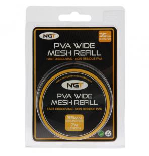 NGT PVA Wide Refill (35mm) Mesh - 7m NGT PVA