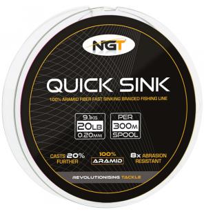 NGT 300m 20lb  'Quick Sink'...