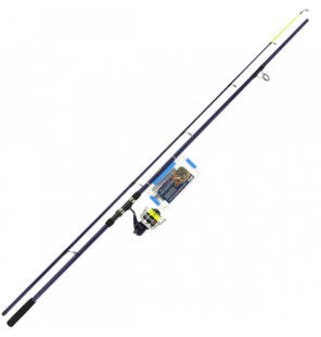 NGT Angling Pursuits Beachcaster Combo - Beachcaster Rod, Reel and Accessory Set Angling Persuits Brandungsruten