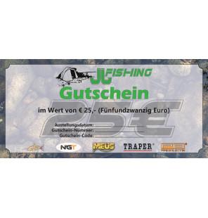 25€ JJ-Fishing Gutschein JJ-Fishing Gutscheine