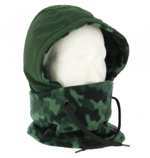 NGT DLX Camo Snood - Fleece Lined Water and Wind Proof NGT Masken & Handschuhe & Co