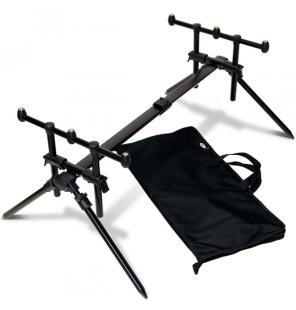 NGT Quickfish Rod Pod - Fully adjustable 3 Rod Pod with case NGT Rod Pod´s, Banksticks & Buzzerbars