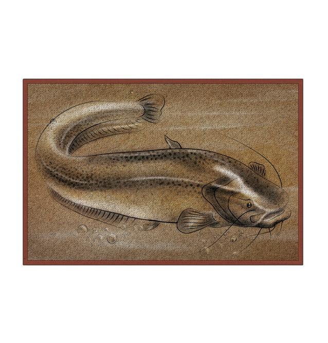 Bivvy Mat Catfish - Wels Fußmatte   60x40cm Delphin Bivvy Mat - Fußmatten