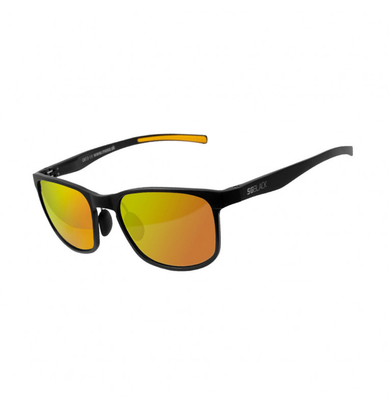 Delphin Polarized sunglasse SG BLACK orange lenses Delphin Polaroid Brillen & Zubehör
