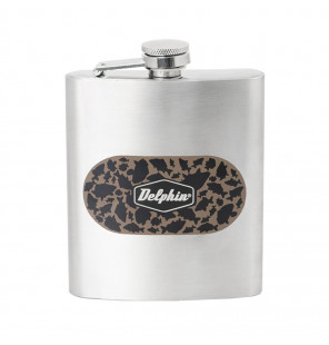 Delphin Stainless steel hip flask CARPATH Flachmann| 210ml Delphin Outdoor Cooking