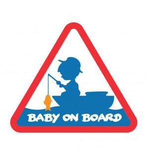 Delphin Sticker BABY on BOARD Delphin Zubehör