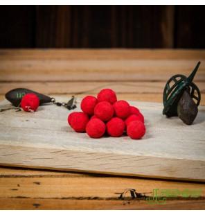 Meus Spectrum Erdbeere Boilies 18mm 1kg Köder Meus Boilies