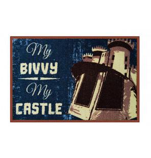 Bivvy Mat My bivvy my castle - Fußmatte|60x40cm  Bivvy Mat - Fußmatten