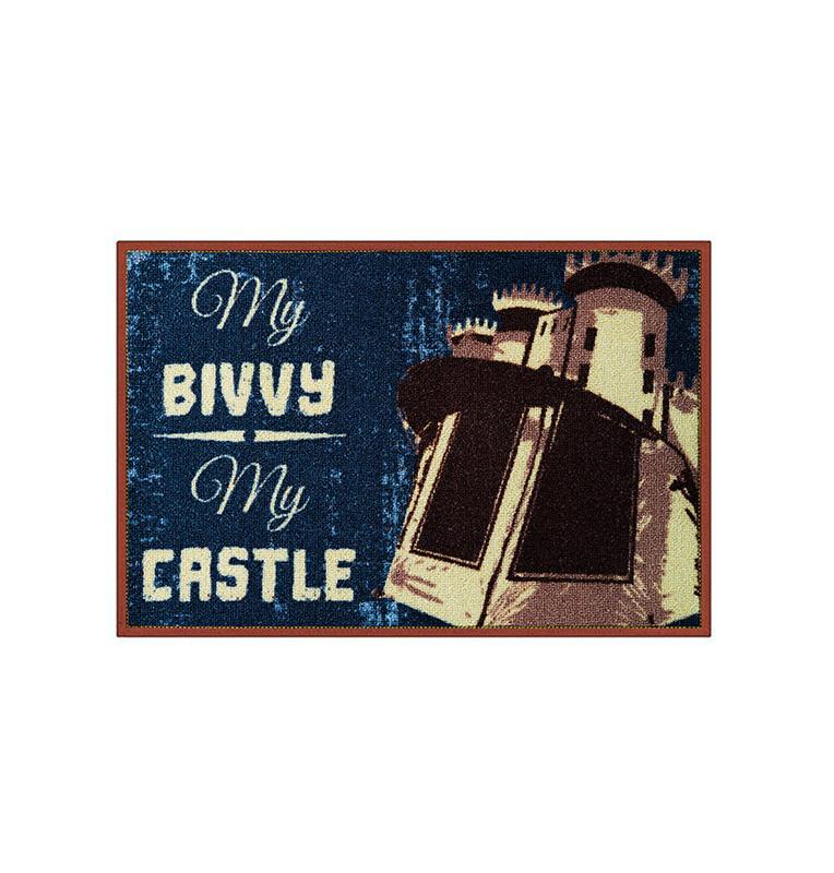 Bivvy Mat My bivvy my castle - Fußmatte 60x40cm  Bivvy Mat - Fußmatten
