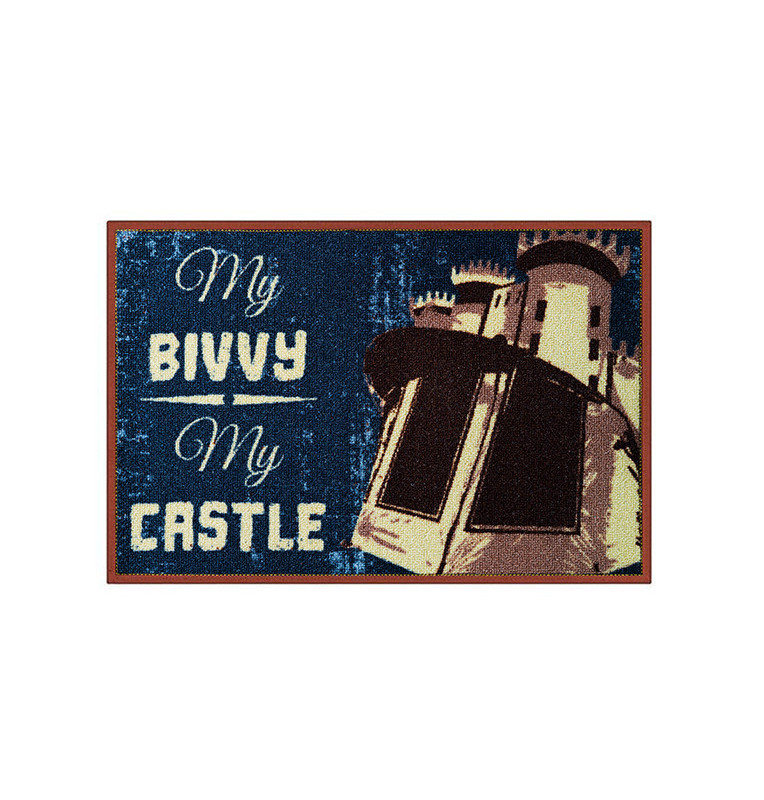 Bivvy Mat My bivvy my castle - Fußmatte|60x40cm Delphin Bivvy Mat - Fußmatten