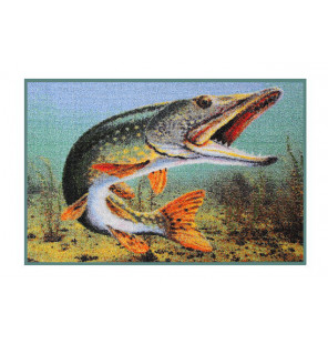 Bivvy Mat Hecht unter Wasser - Fußmatte | 60x40cm Delphin Bivvy Mat - Fußmatten