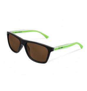 Delphin Polarized Sunglasses SG TWIST brown glasses Sonnenbrille mit Tasche Delphin Polaroid Brillen & Zubehör