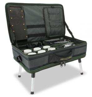 NGT Carp Bivvy Table System II (588) Angeltasche mit Tisch und Tackle Boxen NGT Bivvy Table - Tische
