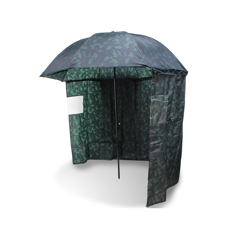 """NGT 45"""" Camo Brolly with Zip on Side Sheet NGT Startseite"""