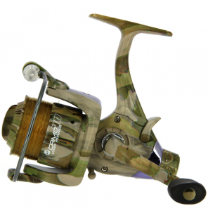 NGT Camo 40 - with 12lb Line + Spare Spool NGT Rollen