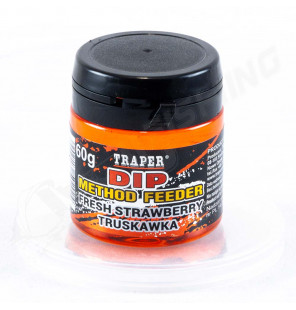 Traper Dip Method Feeder – Fresh Strawberry 60g Traper Baits
