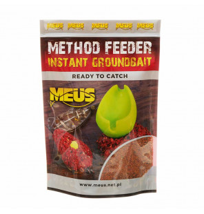 Meus Method Feeder Instant Groundbait - Schokolade & Nuss Meus Baits