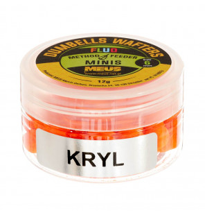 Meus Method Feeder Dumbells Fluo Wafters 6mm Krill Meus M.F. Wafter