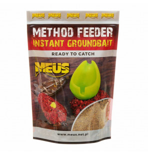 Meus Method Feeder Instant Groundbait - Schokolade & Marzipan Meus Baits