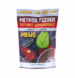 Meus Method Feeder Instant Groundbait - Spicy Sausage Meus Baits