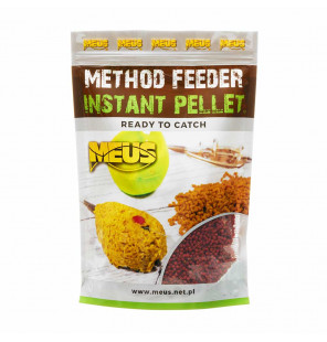 Meus Method Feeder Instant Pellets - Schokolade & Orange Meus M.F. Pellets