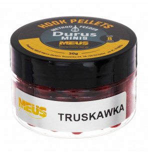 Meus Method Feeder Hook Pellets 8mm – Erdbeere Meus Baits