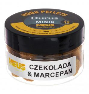 Meus Durus Hook Pellets 12mm Schokolade & Marzipan Hakenköder Meus Hookbaits